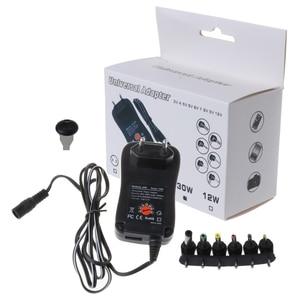 Image 5 - 3 V 12 V Sạc Thông Minh 30W Đa Năng AC/DC Adapter Nguồn AC 110 240V Với 6 Adapter Và Cổng USB 5V 2.1 US/EU/Phích Cắm UK