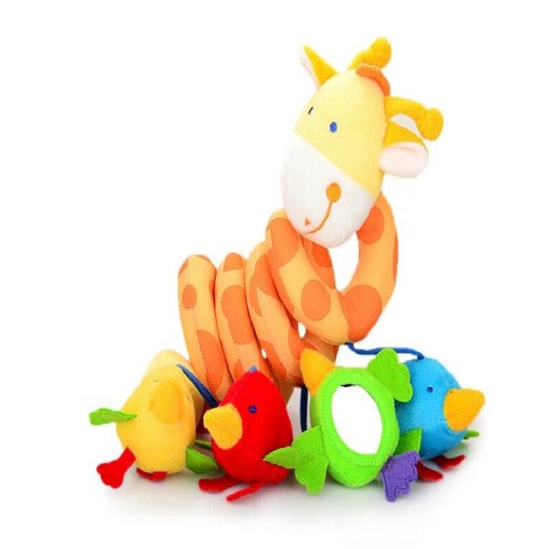 Peluche animal jirafa infantil cochecito de juguete de educación - Juguetes para niños - foto 5