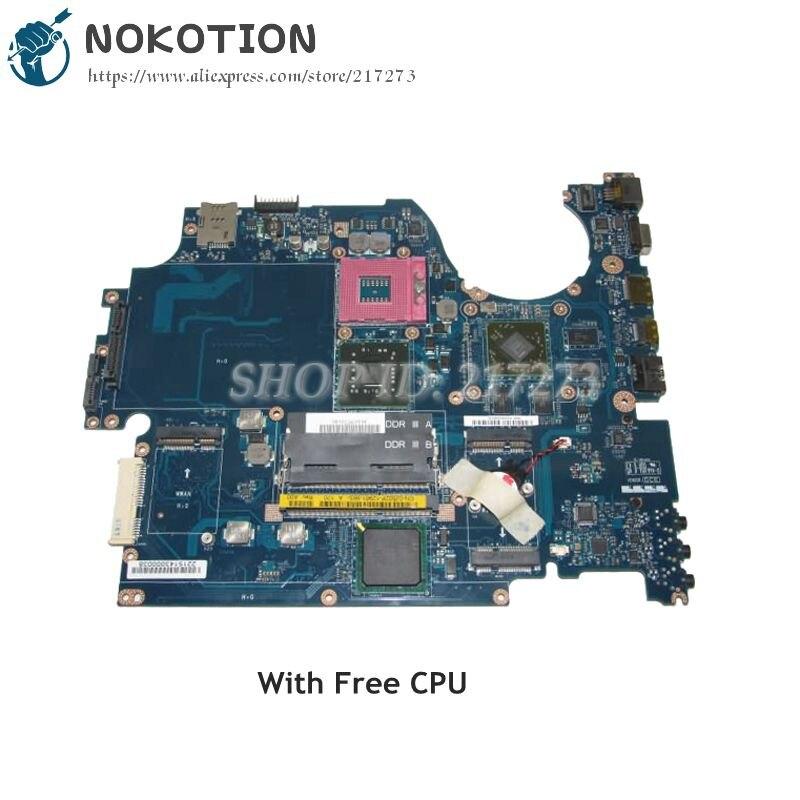 NOKOTION NOKOTION For Dell Studio 1745 Laptop Motherboard CN-0J502P 0J502P GM45 KAT00 LA-5151P HD4650 Free CPU nokotion brand new qcl00 la 8241p cn 06d5dg 06d5dg 6d5dg for dell inspiron 15r 5520 laptop motherboard hd7670m 1gb graphics