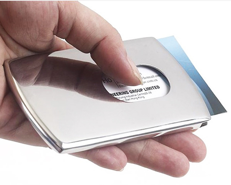 Buy stainless business card holder and get free shipping on ...