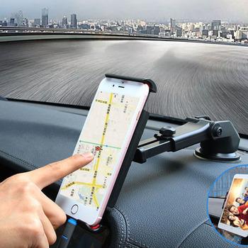 Wsparcie telefon uchwyt samochodowy stojak stojak na telefon komórkowy uniwersalne akcesoria do telefonów komórkowych tanie i dobre opinie DuDa Brak funkcji CN (pochodzenie) Uniwersalny smartphone car support