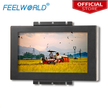 "Feelworld PF829-9AT 8"" Touch Monitor 800x480 TFT Industrial Monitor 8 Inch LCD Monitor Metal Open Frame Monitors"