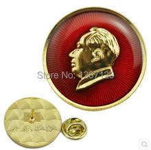 MAO zedong keep peace forever retro button badges