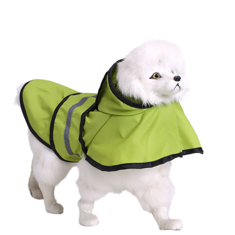 Pet Dog Rain Coat Jacket Clothes Dog Puppy Waterproof Hoodie Raincoat XS-XXL ...