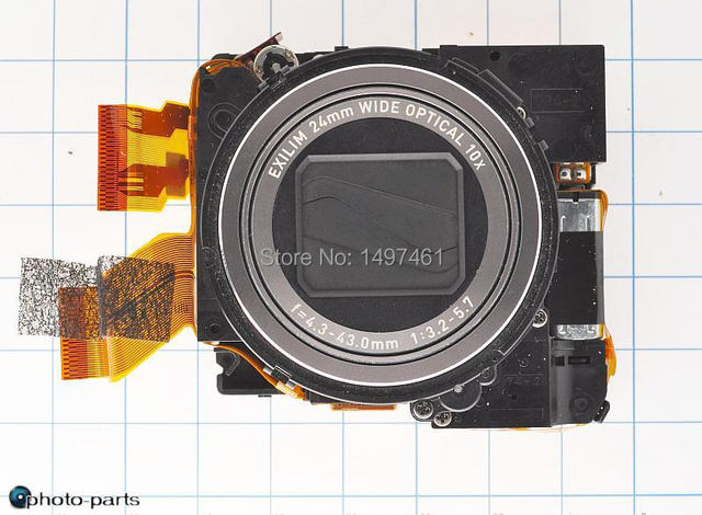Оригинал зум-объектив Для Casio EX-H5 H10 H15 H20G Digitar камера без ПЗС