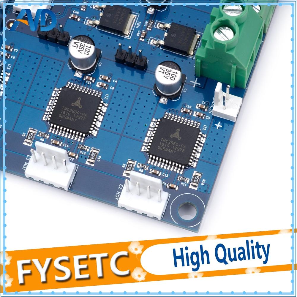 Carte d'extension Duex5 DueX clonée avec Support TMC2660 pour Thermocouple ou cartes fille PT100 pour imprimante 3D et Machine à CNC - 4