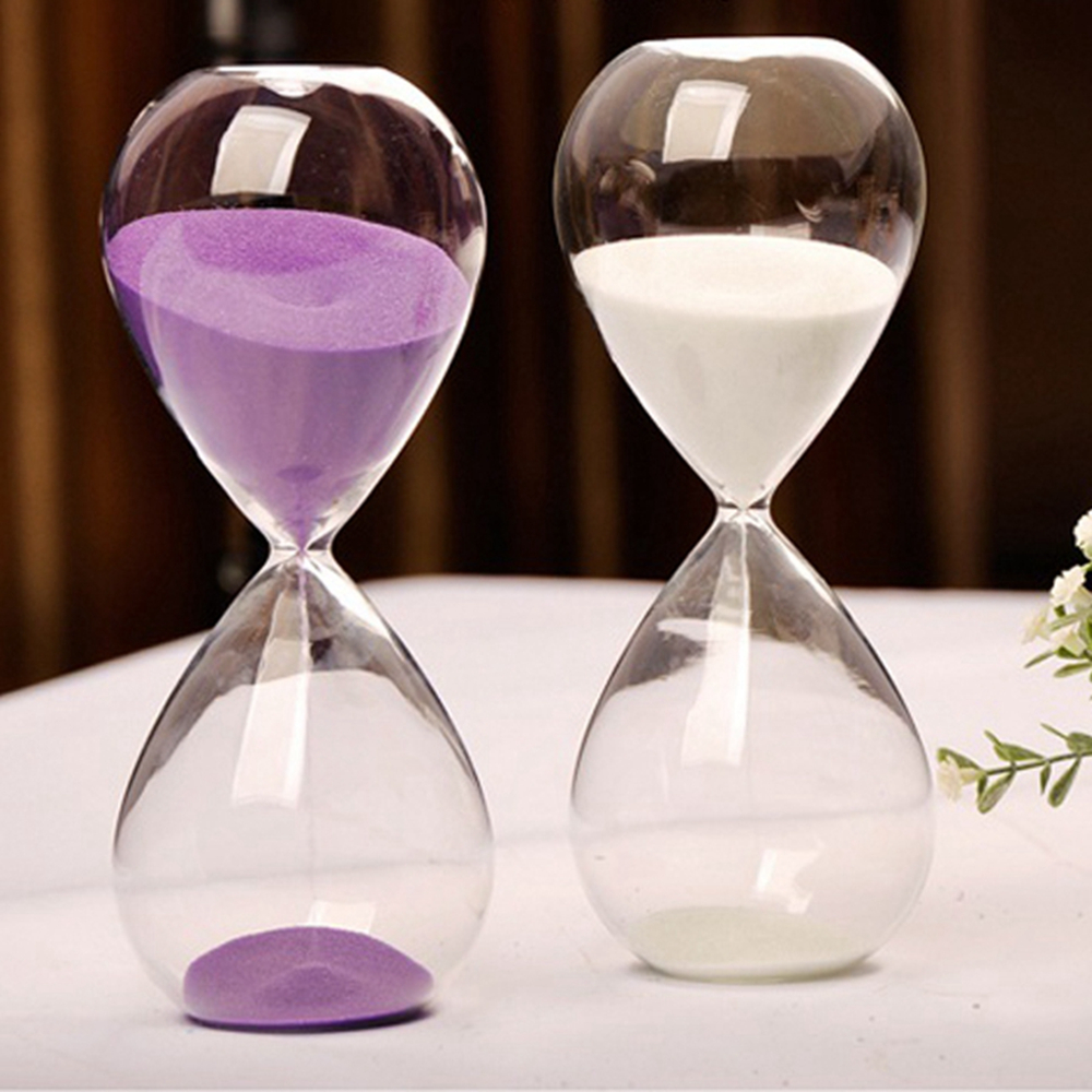 10 Minutes Transparent Glass Sand Timer Clock Hourglass Sandglass Home Decor  Wedding Decoration Accessories Lovely Gifts Crafts In Hourglasses From Home  ...
