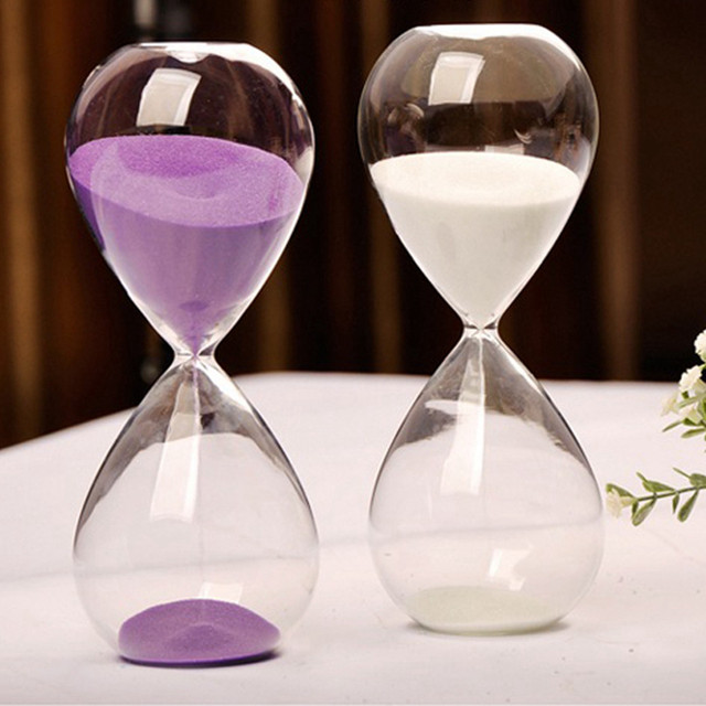 Online shop 10 minutes transparent glass sand timer clock 10 minutes transparent glass sand timer clock hourglass sandglass home decor wedding decoration accessories lovely gifts crafts junglespirit Image collections