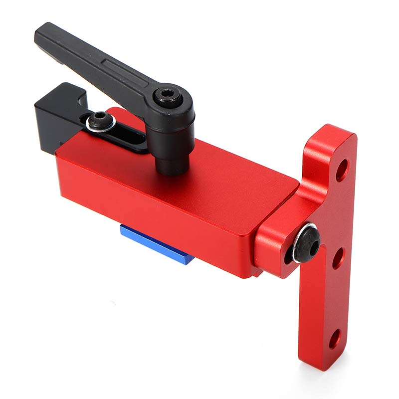 Aluminium Alloy Miter Track Stop Suitable For 45mm T-track Woodworking Hand Tool