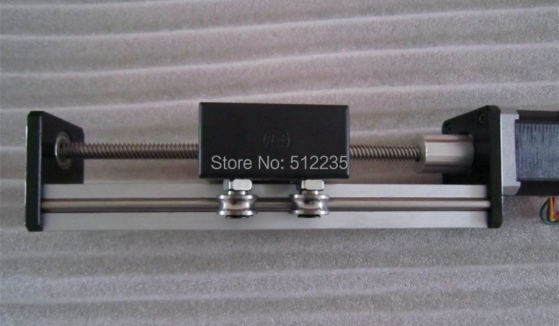 Ст CNC высокой точности Т8*2 Швп раздвижной стол эффективный ход 1000мм+1 шт нема 23 stepper мотора оси XYZ линейные движения