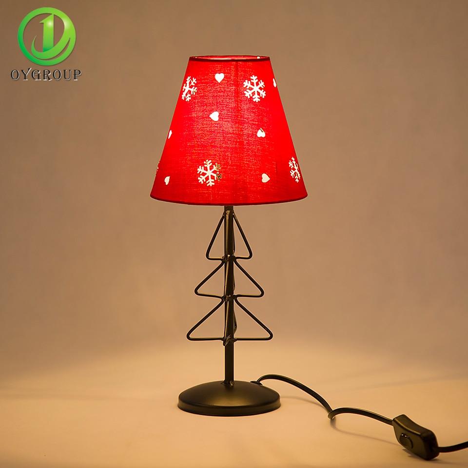 Online Shop Christmas Table Lamps Lights Living Room Bedroom Study