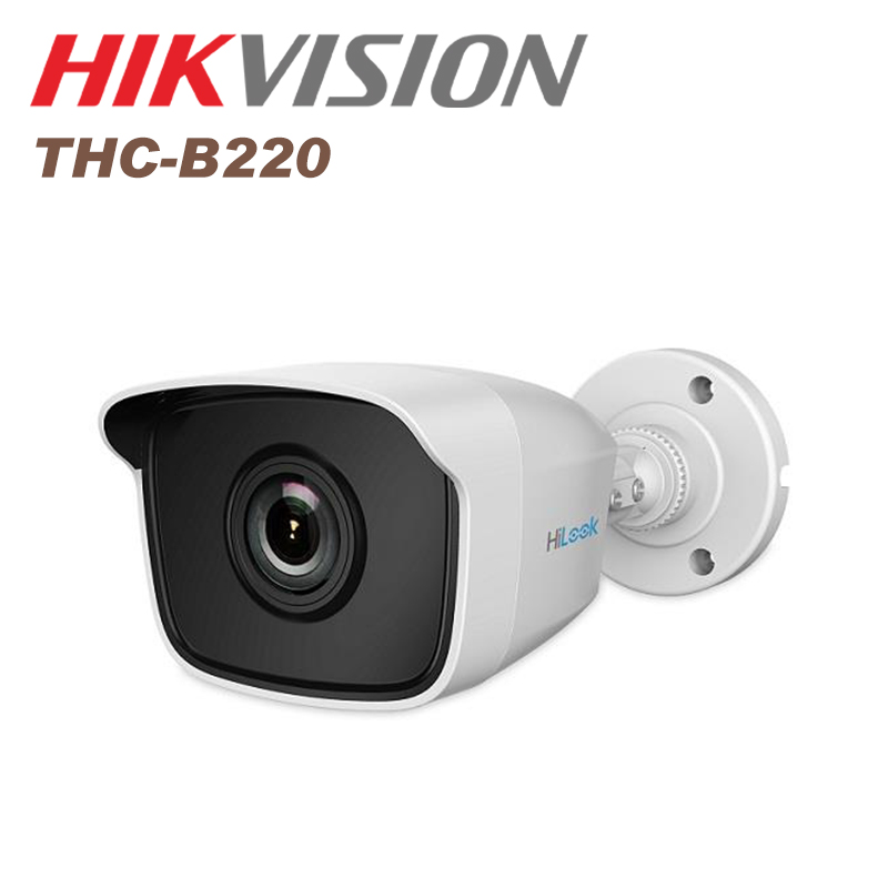 Hikvision cctv camera 2 MP EXIR Bullet Camera IP66 THC-B220(2.8mm) TVI cctv IR camera bullet camera tube camera headset holder with varied size in diameter