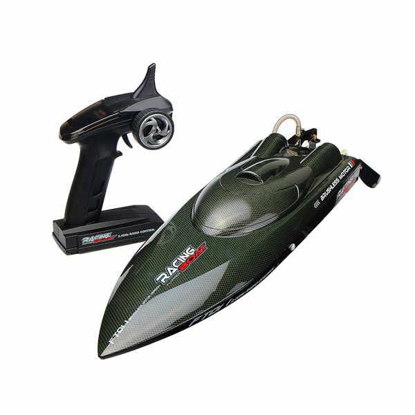 Feilun FT011 65 CM 2,4G barco RC sin escobillas Barco de carreras de alta velocidad con sistema de refrigeración por agua juguetes de Control remoto