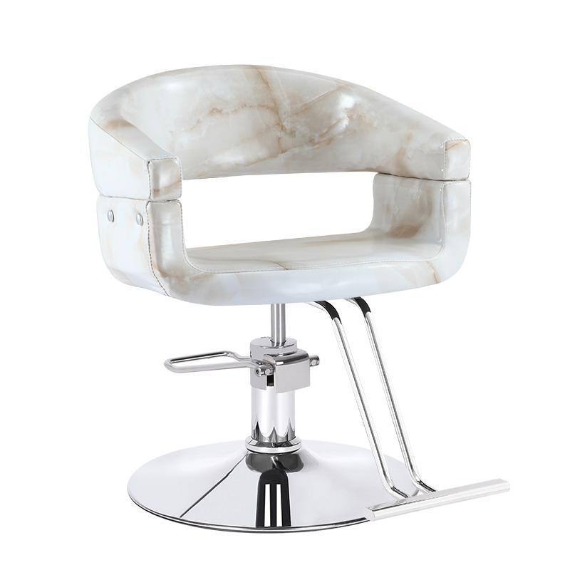 Новое парикмахерское кресло, вращающееся парикмахерское кресло, подъемное кресло с ручкой, парикмахерский салон, специальное парикмахерское кресло - Цвет: Style 10