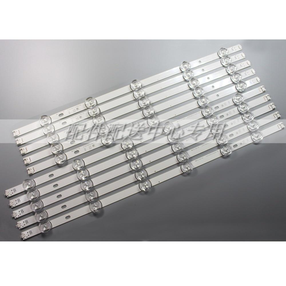 10pcs x LED Strip for Innotek DRT 3 0 55 55LB561V LG55LF5950 6916L 1730A 1731 1833A