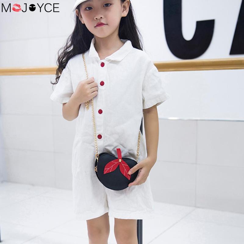 Liberal Mode Schlinge Schulter Tasche Für Mädchen Kinder Nette Pu Leder Messenger Taschen Apple Form Crossbody-tasche Kette Bolsos De Mujer Gepäck & Taschen