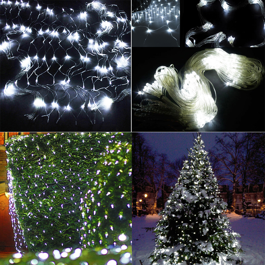 3m X2m 210 Led Fairy String Xmas Tree Mesh Curtain Ceiling House Wire Christmas Lights In Addition Wiring Window Wall Net Light Festival Holiday Decoration From