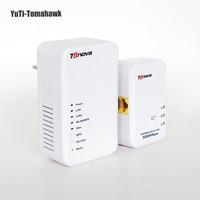 2015 500Mbps Powerline Speed 300Mbps Wireless Wired Speed Homeplug AV Powerline Ethernet Adapter Wifi Hotspots Wireless