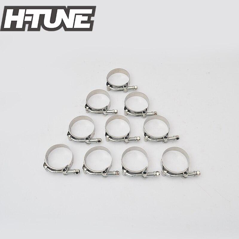 H-TUNE 10 pièces En Silicone Robuste En Acier Inoxydable 2