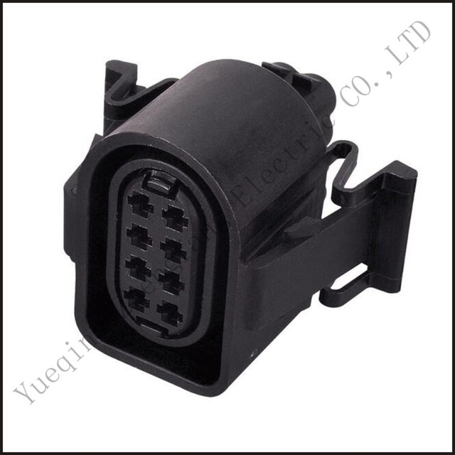 3a0973714 car male connector female wire 8 pin plug connector automotive  wiring terminal socket fuse box dj7082a-1 5-21