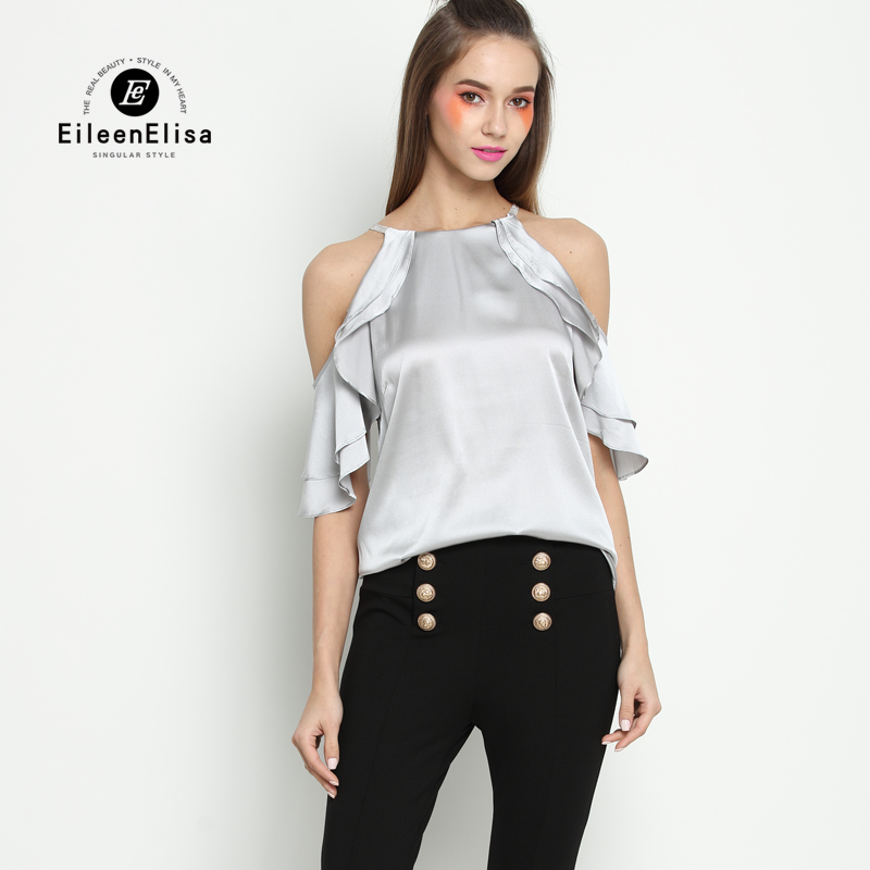 Summer Blouses For Women 2017 Runway Tops Fashion Brand Luxury Blouse Woman-in Blouses & Shirts from Women's Clothing    1
