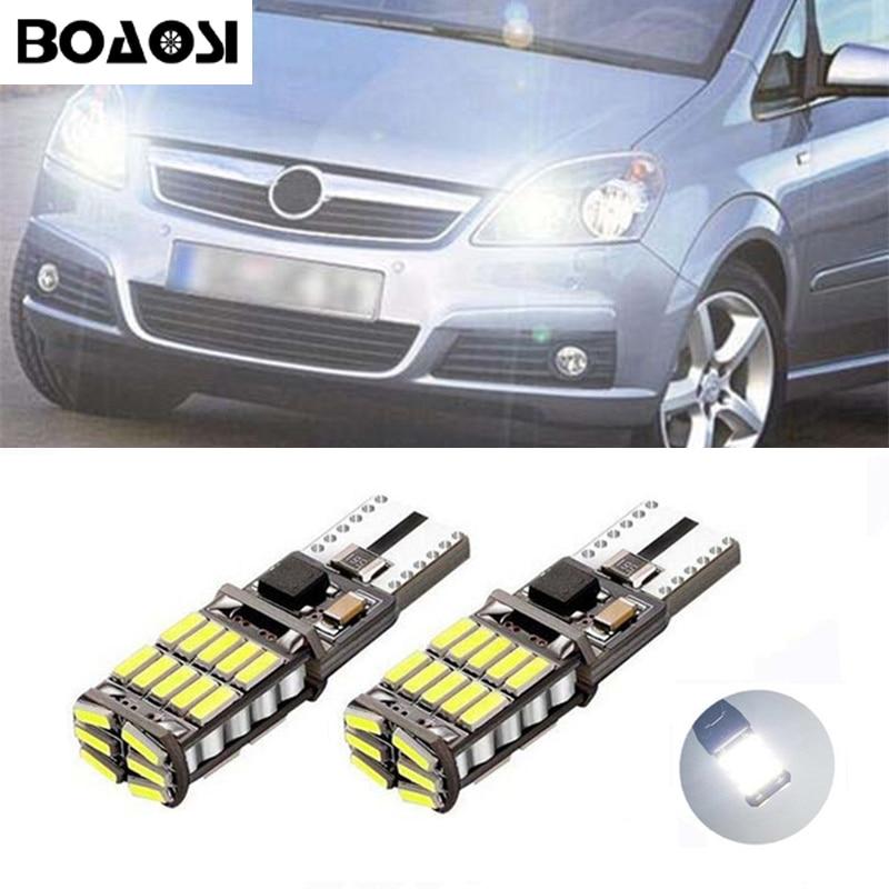 BOAOSI 2x Auto w5w LED 4014SMD Breite Lampe Licht für Opel Zafira A - Auto Lichter