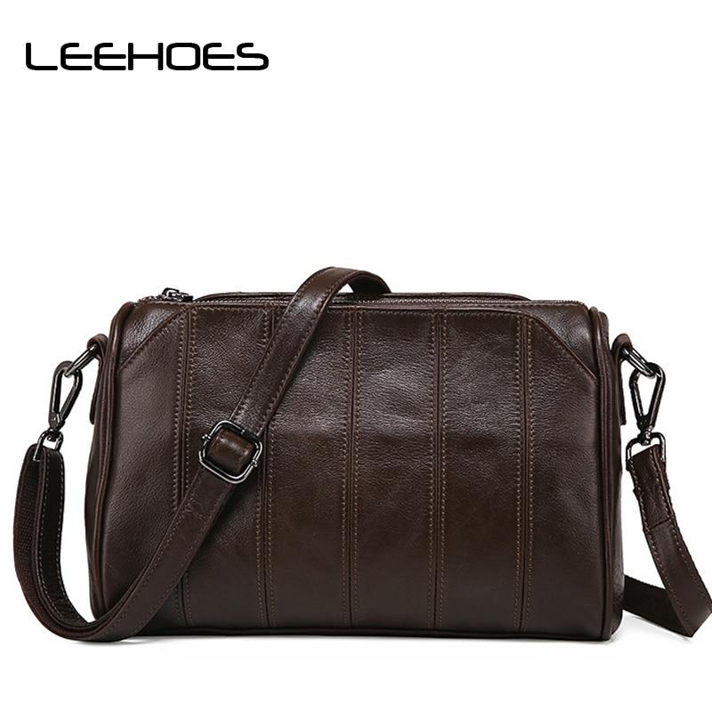 Genuine Leather Women Shoulder Bag Zipper Long Straps 4colors Cross Bag Woman's Fashion Messenger Lady Crossbody Luxury Handbags