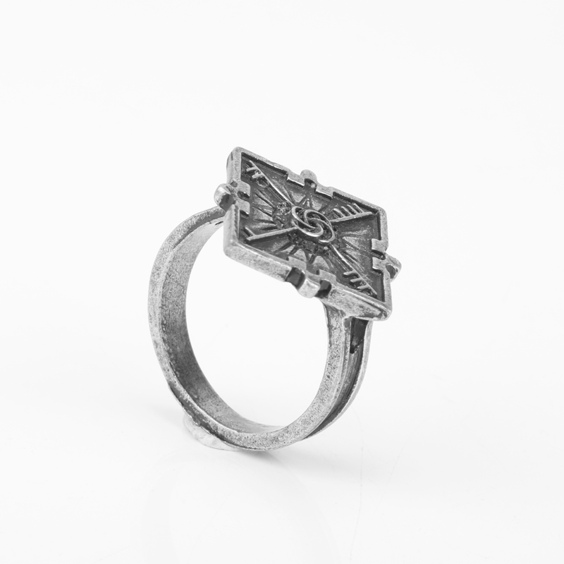 Wholesale Dishonored 2 Emily S Ring Vintage Antique Silver Color