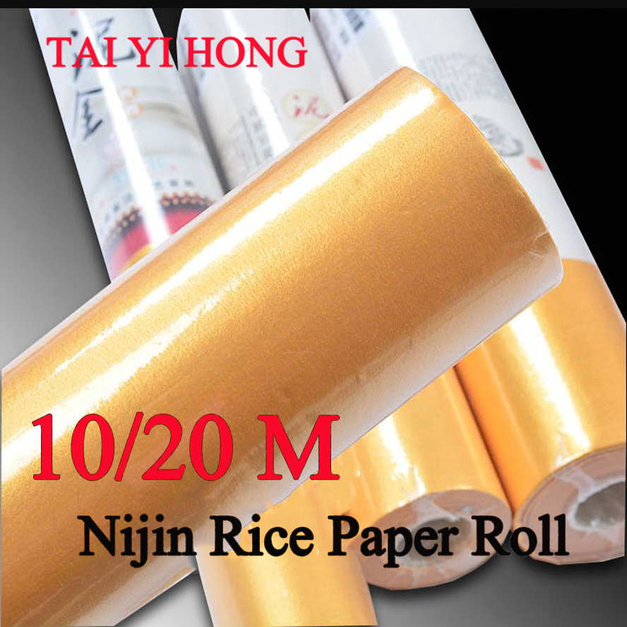 10/20m Nijin Revivalism Chinese calligraphy Rice Paper Roll Painting Xuan Paper Painting Supply a4 printing yunlong rice paper chinese painting calligraphy xuan paper painting supply canvas stationary
