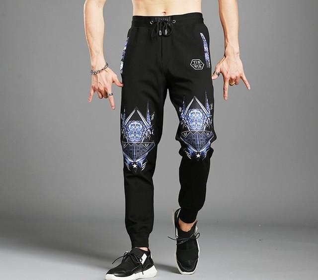 Homens Esfriar Calças de Camuflagem casuais Slim Fit Novo Estilo Primavera Lápis Calças Hip Hop Calças Dos Homens Corredores Masculinos de Qualidade