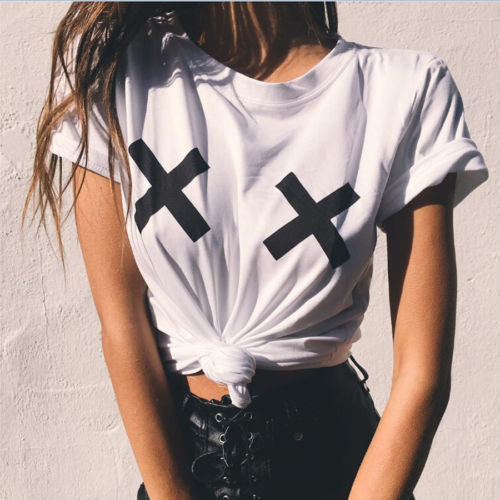Women's T Shirt Tops Summer Short Sleeve Casual Graphic ...