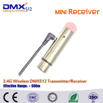 DHL Free Shipping Lifetime warranty 4pcs/lot Wireless DMX 1pcs sender and 3pcs receivers controller