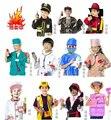 2016 Hot Fireman Sam Crianças Dia Das Bruxas Cosplay para Fancy Dress menina menino do dia das bruxas partido cosplay Polícia Médico roupas