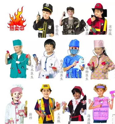 2016 hot fireman sam kids halloween cosplay costume for fancy dress girl boy halloween party cosplay - Kids Doctor Halloween Costume