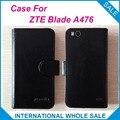 Горячая! 2016 ZTE Blade A476 Случае 6 Цветов Кожи Высокого Качества Специальный Крышка Для ZTE Blade A476 отслеживая номер