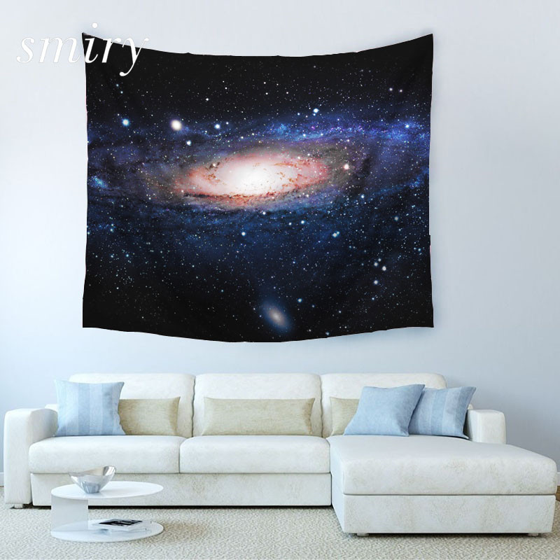 Smiry Marke Cosmic Nebula 3D druck Polyester Cosmic Nebula Strand Decke Raumteiler Yoga Strand mode Wandteppich größe 150x130 cm