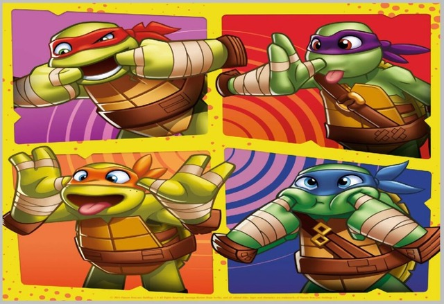 5x7ft Half Shell Heroes Ninja Turtles Frame Custom Fotostudio