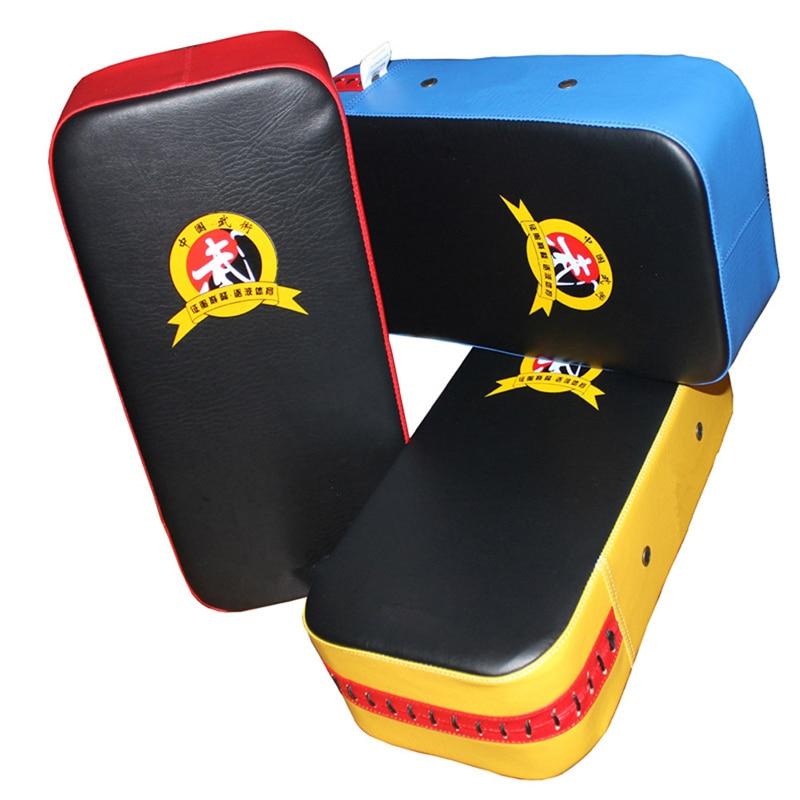 1pc Rectangle Foot Target Kicking Strike Punching Pad Karate MMA Sparring Muay Thai TKD Training Gear