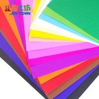 16 Colors 4K Super Large Color Hard Cardboard Thick Paper Children Handmade Paper DIY Material Origami