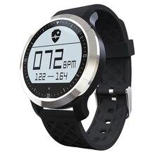 Новый Дизайн Водонепроницаемый IP 68 Плавание монитор Сердечного Ритма Смарт-Часы Отсчет Плавать Руку Бег Шаг Шагомер Спортивные Часы