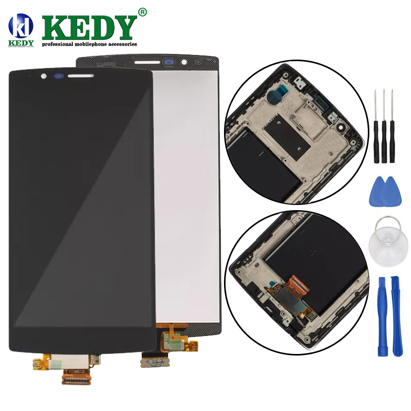 Single SIM 5.5 ORIGINAL Display for LG G4 LCD H815 Display Touch Screen with Frame for LG G4 LCD Replacment H810 H811 H815 H818