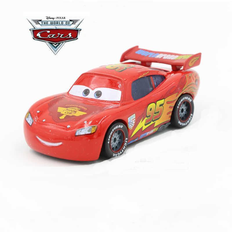 Disney Pixar тачки 27 стилей 1: 64 Молния Маккуин матер литья под давлением игрушки из металлических сплавов на день рождения Рождественский подарок для детей Машинки Игрушки