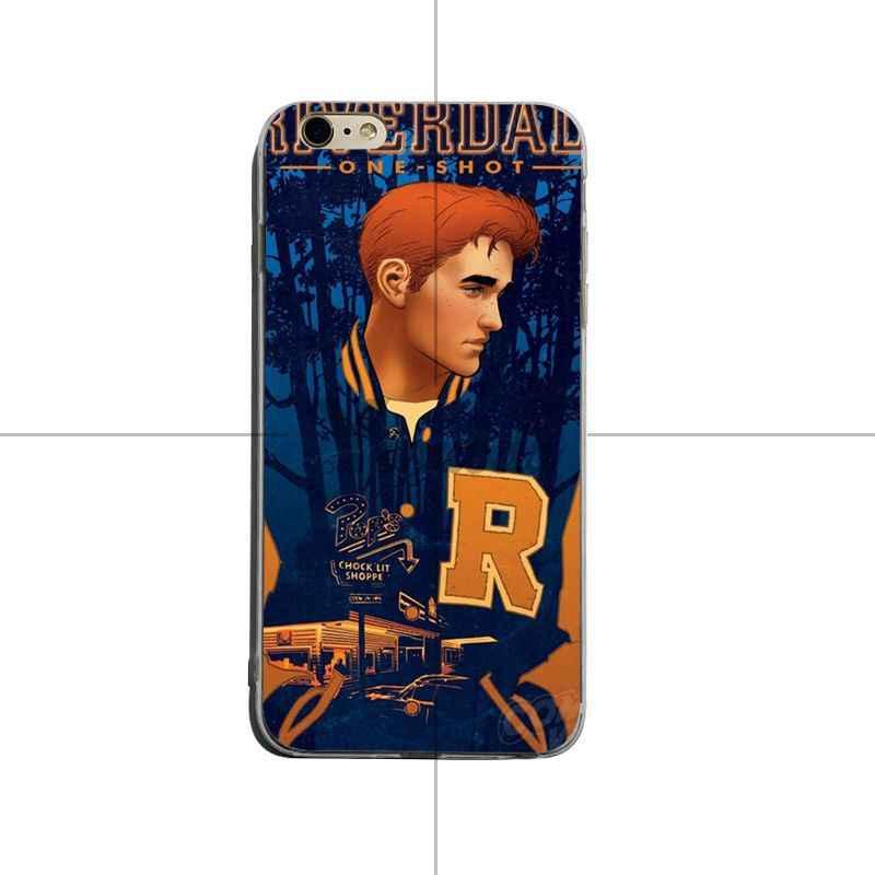 Yinuoda Горячая ТВ-шоу с рисунком ривердейла высокое качество классические аксессуары для телефонов Чехол для iPhone X XS XR XsMax 8 plus 6 6s 7 7plus