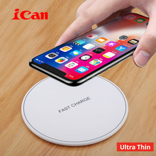 Ican Wi-fi Charger for iPhone 8/X /Eight Plus 10W Qi Quick Wi-fi Charging Pad Wi-fi Charger for Samsung Galaxy S8/S7 /S8 +