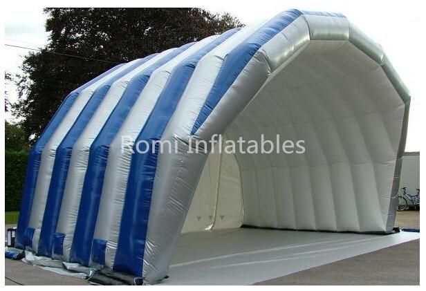 Gratis pengiriman raksasa luar panggung tiup tenda - Hiburan dan olahraga luar ruangan - Foto 4