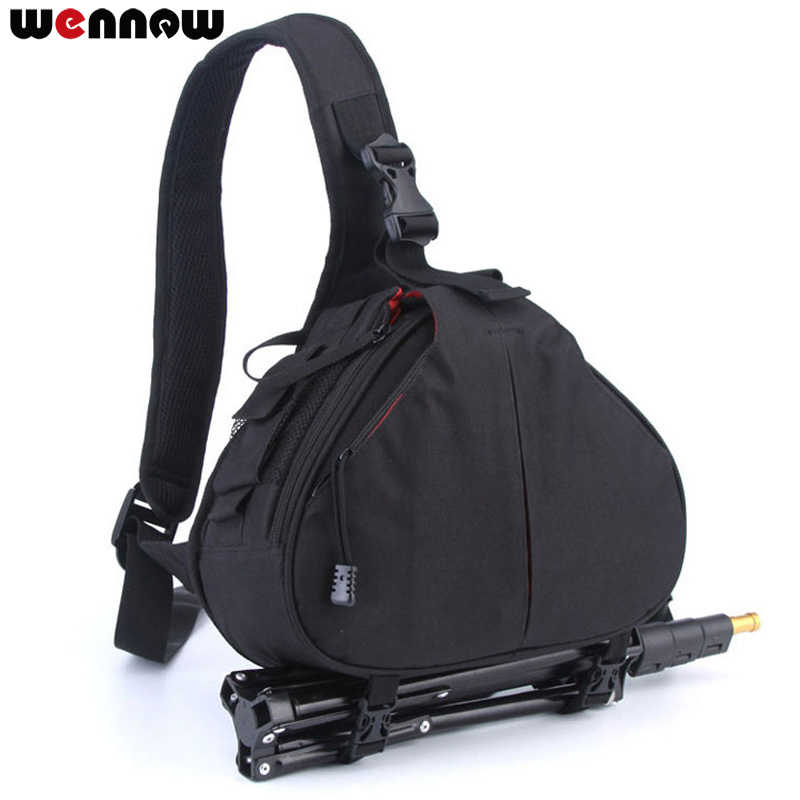 Водонепроницаемый Рюкзак плеча DSLR Камера сумка для Canon EOS R M50 M100 5D Mark IV 6D Mark II 5DS SX60 SX540 G1 X G5X SX430