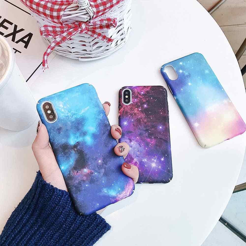 KISSCASE Lu mi nous telefon Starry Sky obudowa do Xiaomi czerwony mi uwaga 7 6 5 Pro czerwony mi GO 4X5 Plus mi 8 A2 Lite A1 9 SE twarda okładka