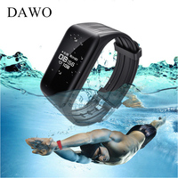 DAWO K1 Smart Bracelet Band IP68 Waterproof OLED Heart Rate Fitness Tracker Smart Wristband For Android IOS Phone PK mi band 2