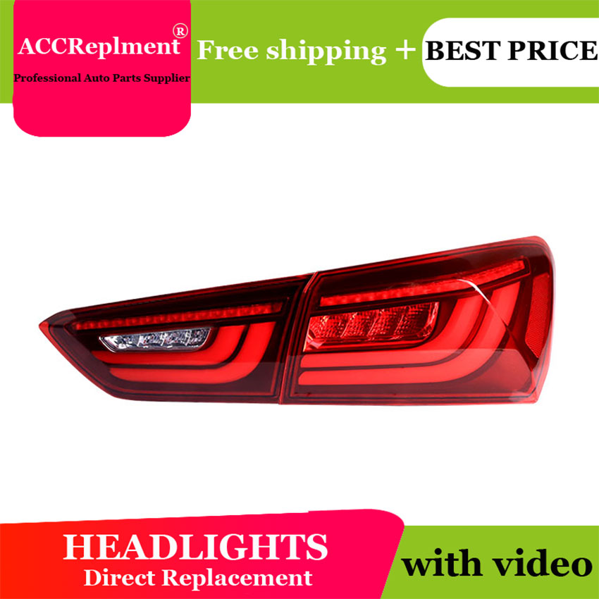US $418 3 6% OFF|2PCS Car Styling for Chevrolet Malibu Taillights 2016 2019  for Edge LED Tail Lamp+Turn Signal+Brake+Reverse LED light-in Car Light