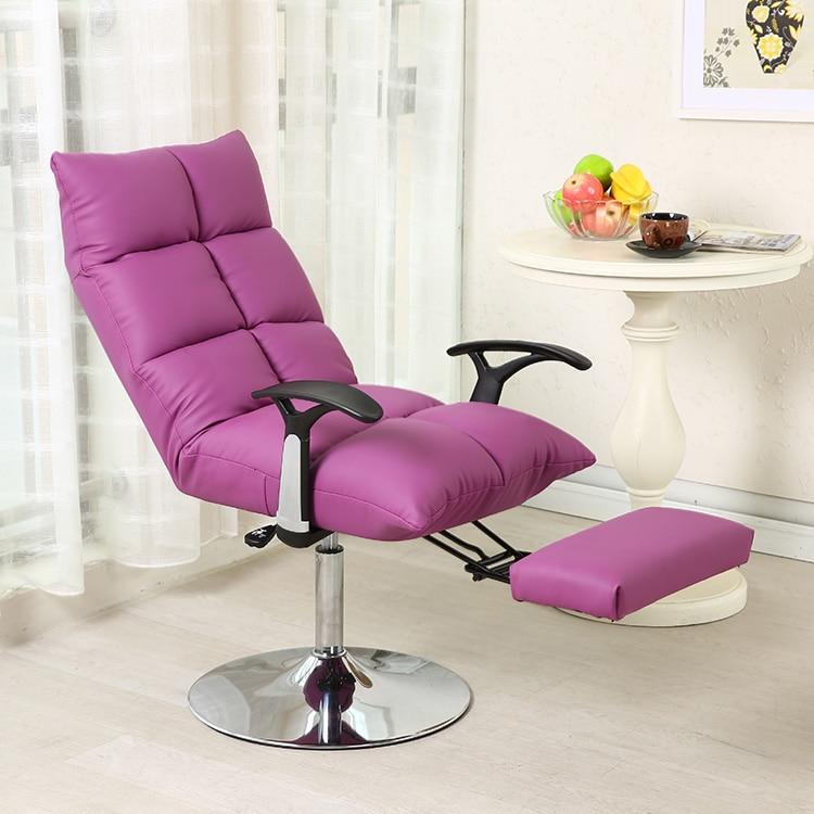 reclining computer chair beanbag office folding nail beauty makeup